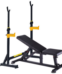 bench and rack