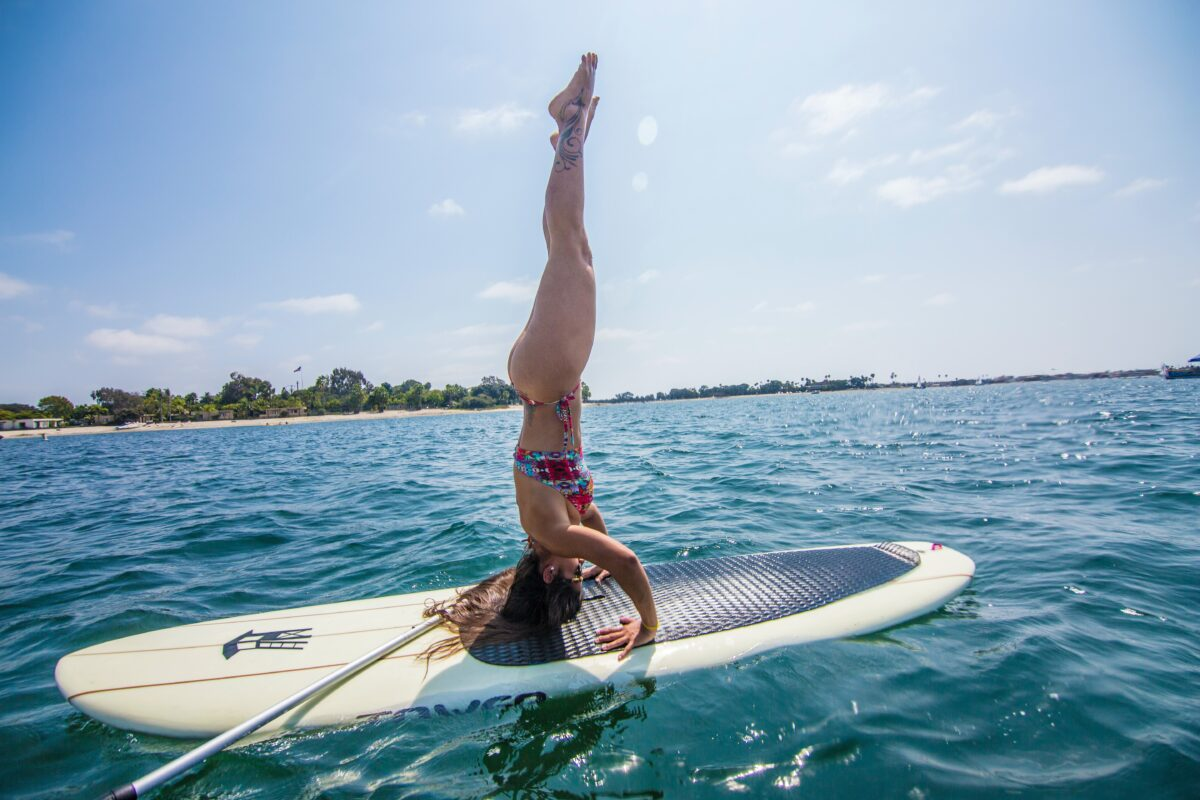 paddle board stability