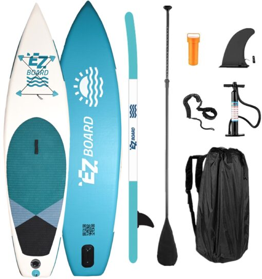 inflatable stand up SUP paddle board - EZ Board - 10'6