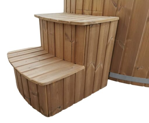Curved Box Steps