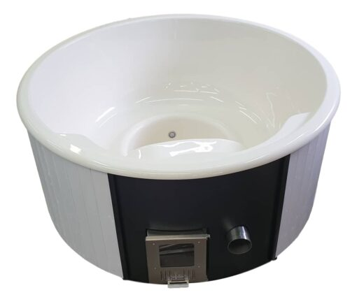 Cream tub with white painted panels