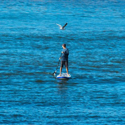 how to sup in the ocean